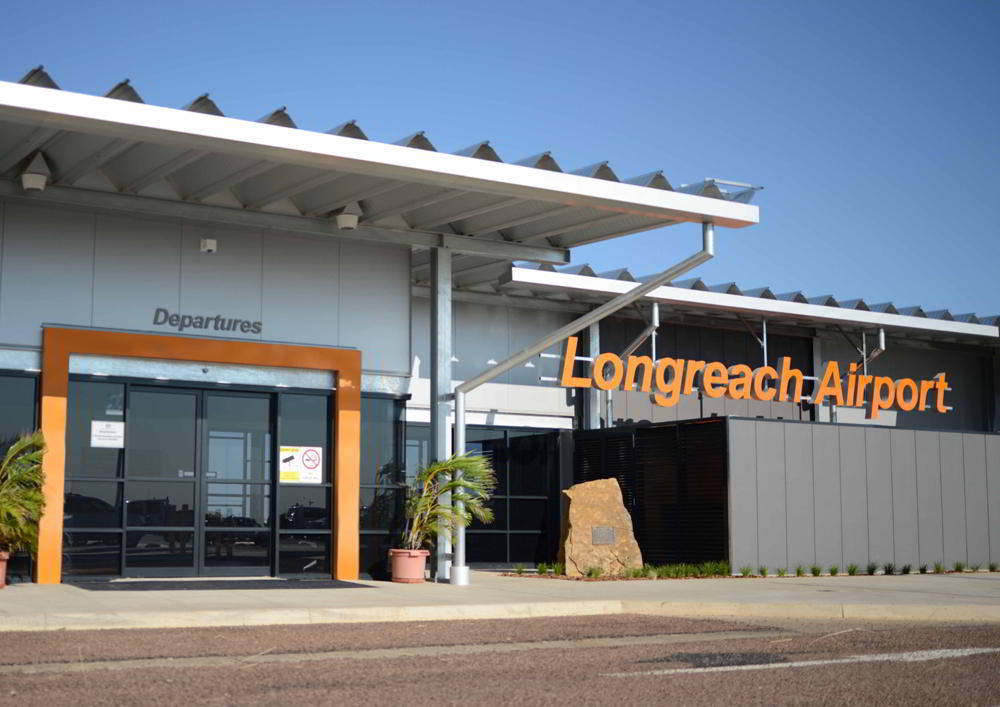 STEA Astute Architecture Airport Design Longreach Airport