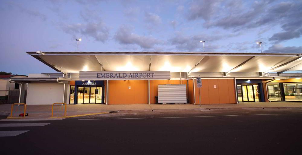 STEA Astute Architecture Airport Design Emerald Airport