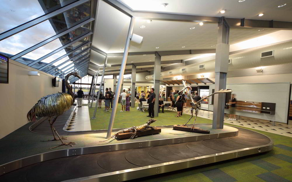 STEA Astute Architecture Airport Design Emerald Airport
