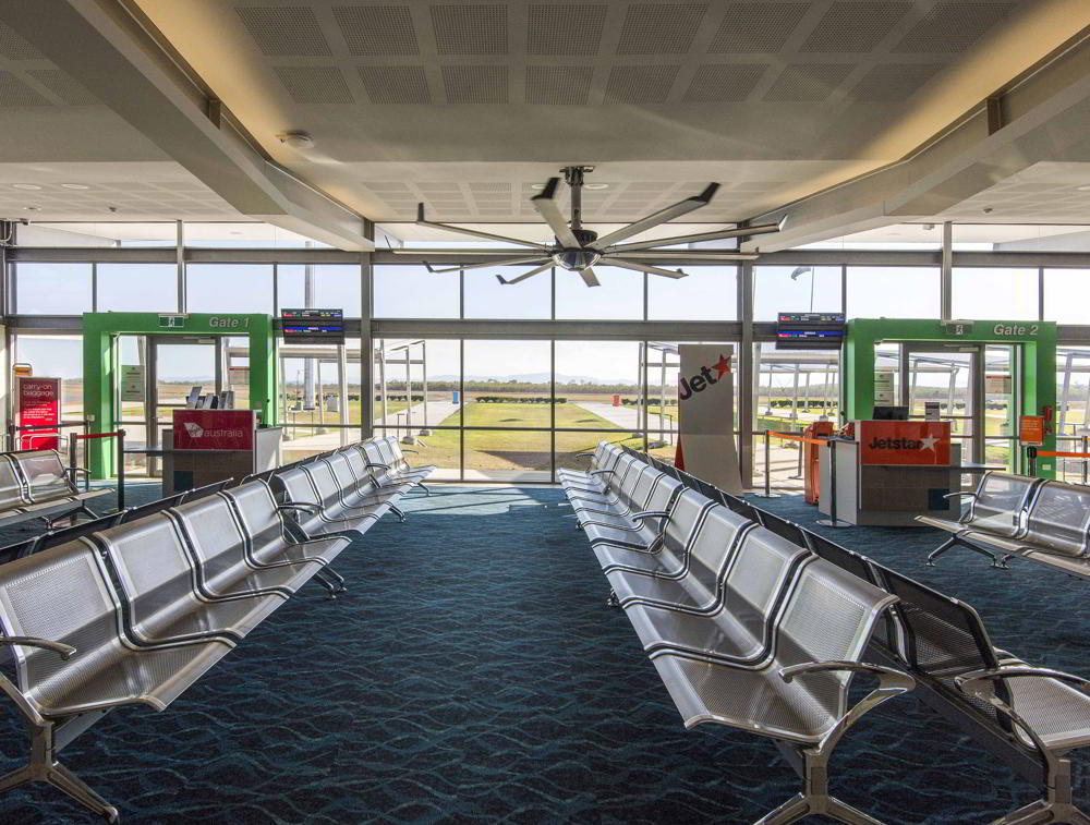 STEA Astute Architecture Airport Design Whitsunday Coast Airport