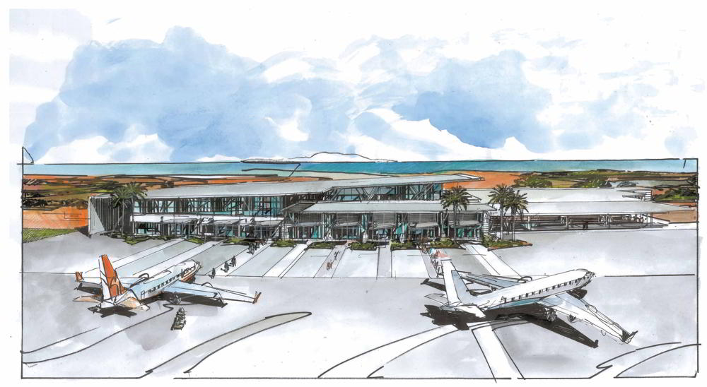 STEA Astute Architecture Airport Design Karratha Airport