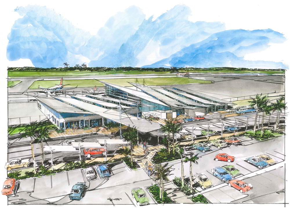 STEA Astute Architecture Airport Design Bundaberg Airport